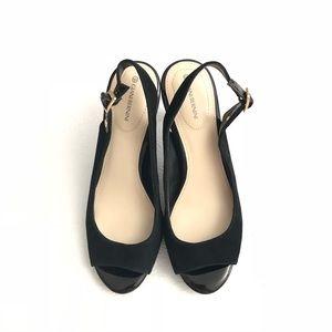 Gianni Bini Shoes - Giani Bernini Blankaa Slingback Heels Suede, Peep